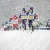 1.5 km Classique:  Stella et Marie-Pierre au départ<br /> Mont Orford, January 29, 2011