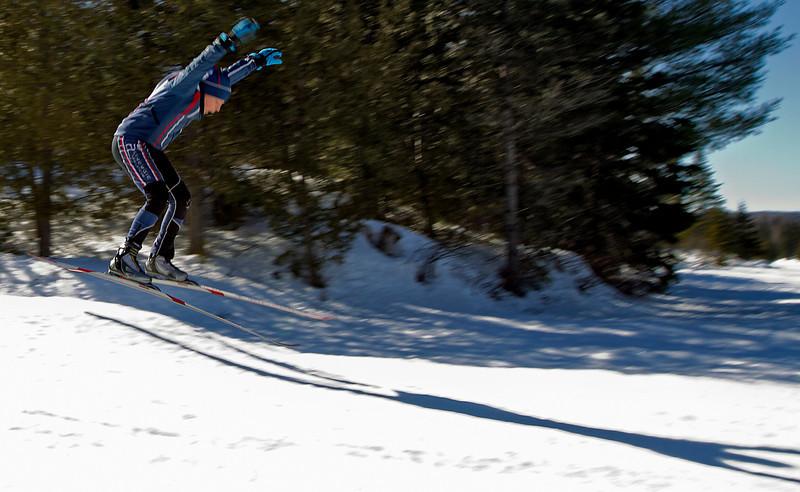 Entraînement: Alexis à Lac Bouchard<br /> le 21 mars, 2011