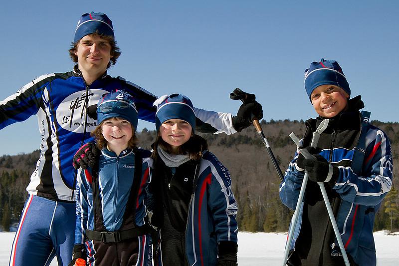 Entraînement avec Hugo à Lac Bouchard<br /> le 21 mars, 2011