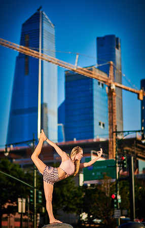 Sept.11,  2019 - New York, NY   Yoga With Brittney photoshoot West Side NYC   Photographer- Robert Altman Post-production- Robert Altman