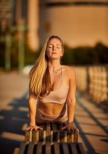 Sept.11,  2019 - New York, NY   Yoga With Brittney photoshoot West Side NYC   Photographer- Robert Altman Post-production- Robert Altman