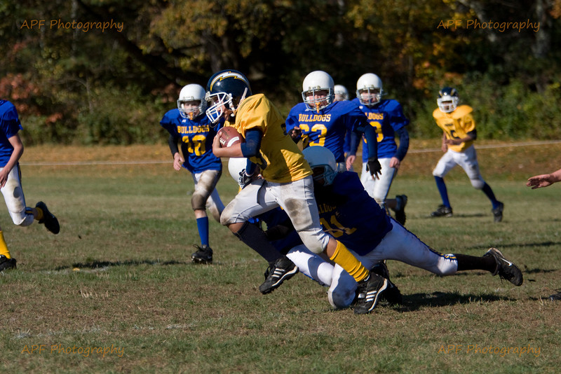 Youth Football 2008 - Quabbin vs. Chicopee Sat. 10-18-08