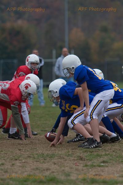 Youth Football 2008 - Quabbin vs. East Longmeadow Sat. 10-25-08