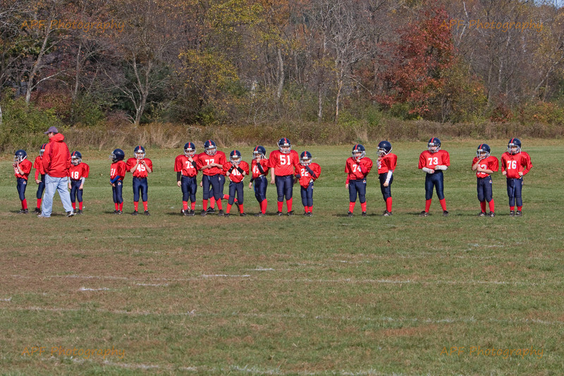 Youth Football 2008 - Quabbin vs. Frontier Sun. 10-19-08