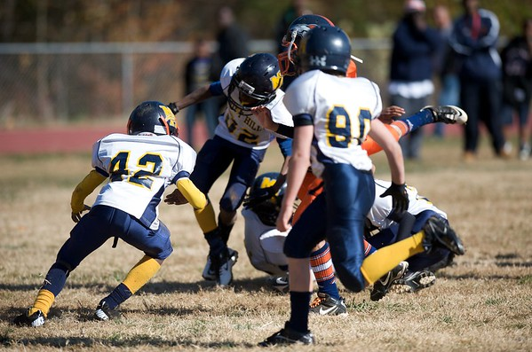 2011 Freedom Drive Broncos vs Mint Hill Jr PeeWee