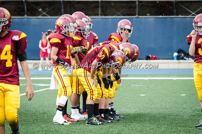 2015 Pasadena Trojans Jr. Midgets vs Grace Brethren 11Sep2015