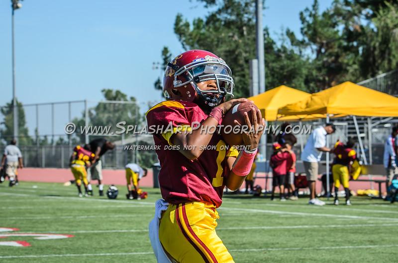 2015 Pasadena Trojans Jr. Midgets vs L.A. Valley Seahawks