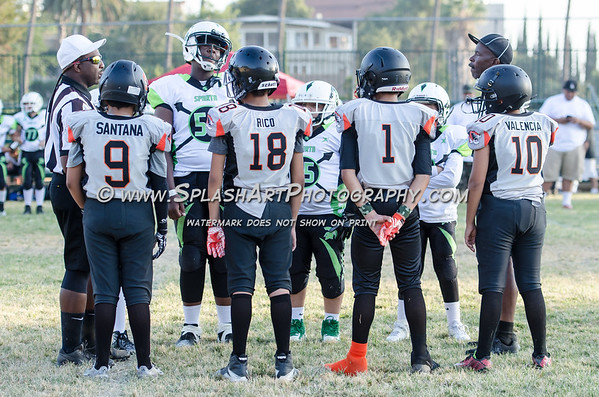 2017 Lincolh Heights Tigers 12U vs Norwalk Spartans