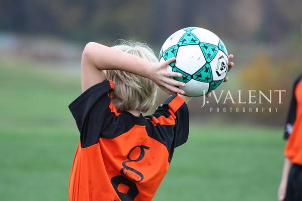 U-10 Soccer, Orange Crush - Fall 2009