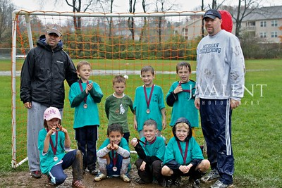 U-7 Soccer, Blue Sharks - Fall 2009