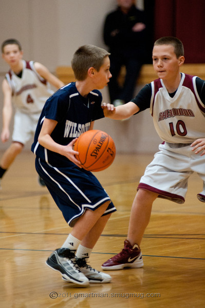 2011 6th Grade Basketball at Sherwood