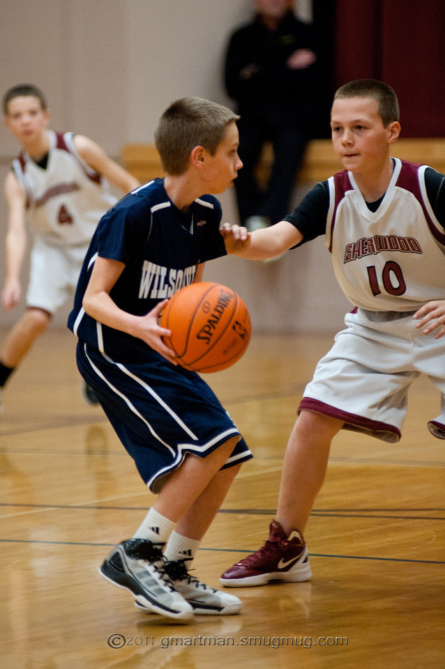 2011 6th Grade Basketball at Sherwood