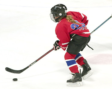12-02 MLA and Cloquet U10 Girls' Hockey