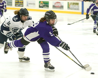 12-07 Cloquet U12 Girls Hockey At Hibbing