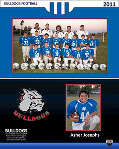 Bulldogs Football, 2011, NYS NE 1490, Team Pictures