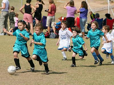 Dragons Soccer - Game 1 - October 13, 2007