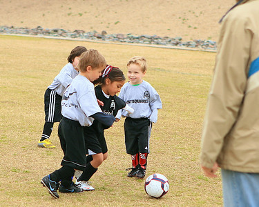 Earthquakes - Sereno Soccer - U5s