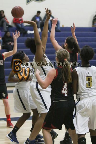 Lady Hawks Basketball 1-29-2016