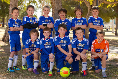 Sereno 02 Premier, 2011-12 Team