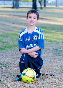 Justin, #18,  Sereno 05  Elite, Youth Soccer, Action, 2011-2012