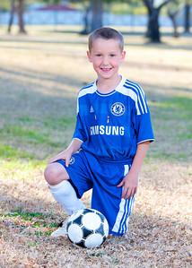 Landon, #12, Sereno 05 White, Youth Soccer, Action, 2011-2012