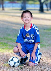 Anthony, #9,  Sereno 05 White, Youth Soccer, Action, 2011-2012