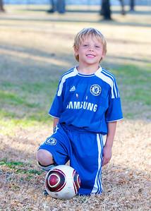 Luke, #6, Sereno 05 White, Youth Soccer, Action, 2011-2012