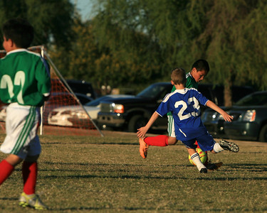 Sereno Blue 04 Elite, Youth Soccer, Action, 2011