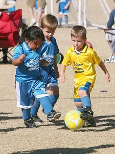 Sharks Soccer - Game 4 - Novmeber 3, 2007
