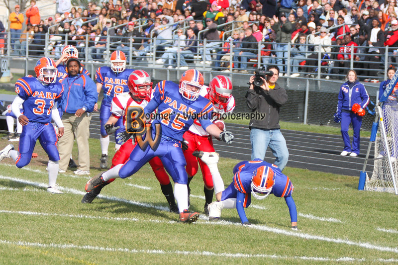 Park and Horlick Playoff 11-1-08  -119