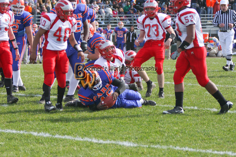 Park and Horlick Playoff 11-1-08  -86