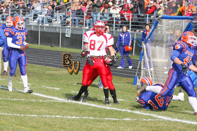 Park and Horlick Playoff 11-1-08  -121