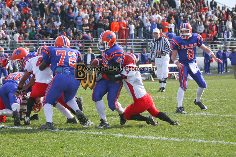 Park and Horlick Playoff 11-1-08  -85