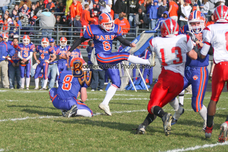 Park and Horlick Playoff 11-1-08  -275