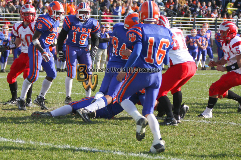 Park and Horlick Playoff 11-1-08  -250