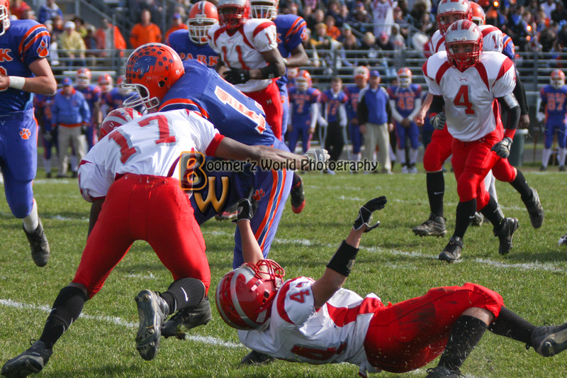 Park and Horlick Playoff 11-1-08  -80