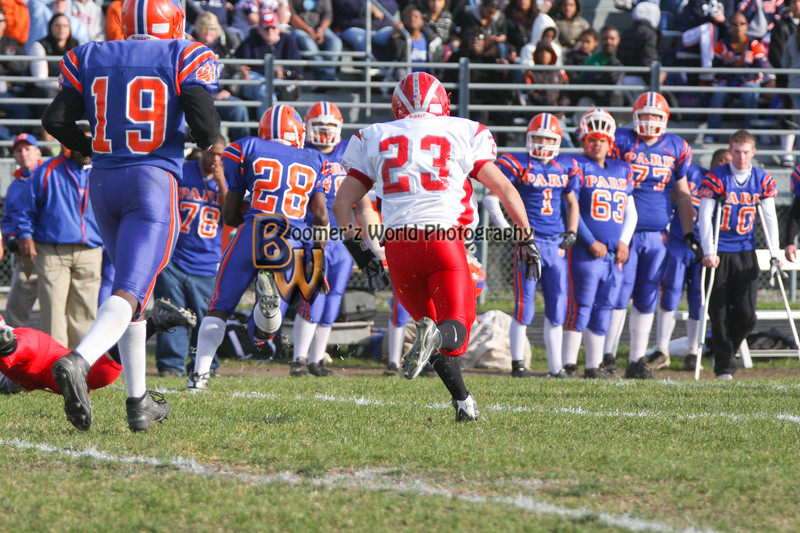 Park and Horlick Playoff 11-1-08  -283
