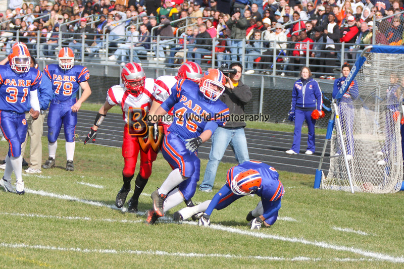 Park and Horlick Playoff 11-1-08  -120