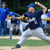 Leominster American's Will Vargo delivers a pitch. SENTINEL & ENTERPRISE / GARY FOURNIER