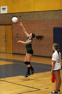 Greenfield Jr High Grizzlies Girls Volleyball 8th Grade.  Arizona State Volleyball Tournament 2010. Arizona Jr High School Athletic Association.