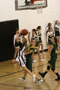 Greenfield Jr High Girls 8th Grade Basketball vs Gilbert Jr High.
