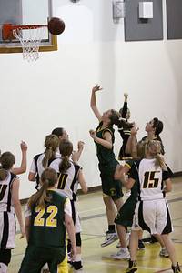 Greenfield Jr High Girls 8th Grade Basketball vs Gilbert Jr High 3/24/10 . Gilbert Jr High won the game 31-25.