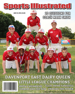 000-Dairy Queen BaseballSports Magazine Cover