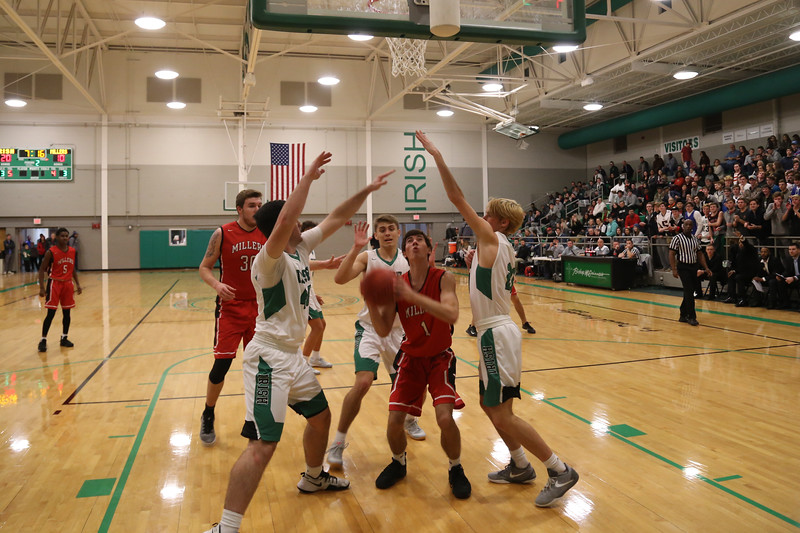 YHS Boys BB at McGuiness Tourney