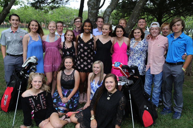 Yukon HS Golf Banquet, May 2017