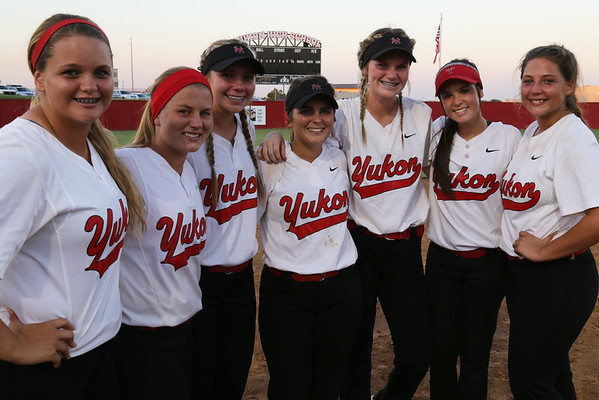 Yukon HS Softball vs Enid