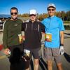 Mark, Paul, and Jeff before the glorious fall sun.  Photo:  Jay Morgan
