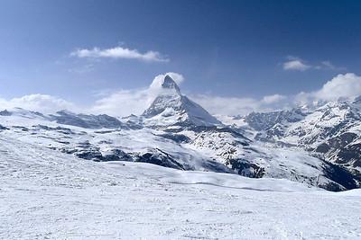 Zermatt - Skiing 2012