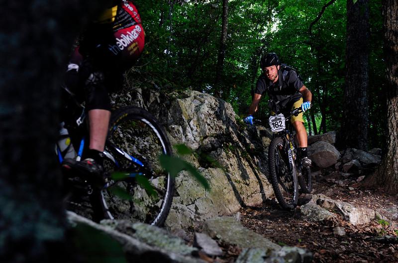 Ian Beckner riding stage 2 in Enduro for SMT