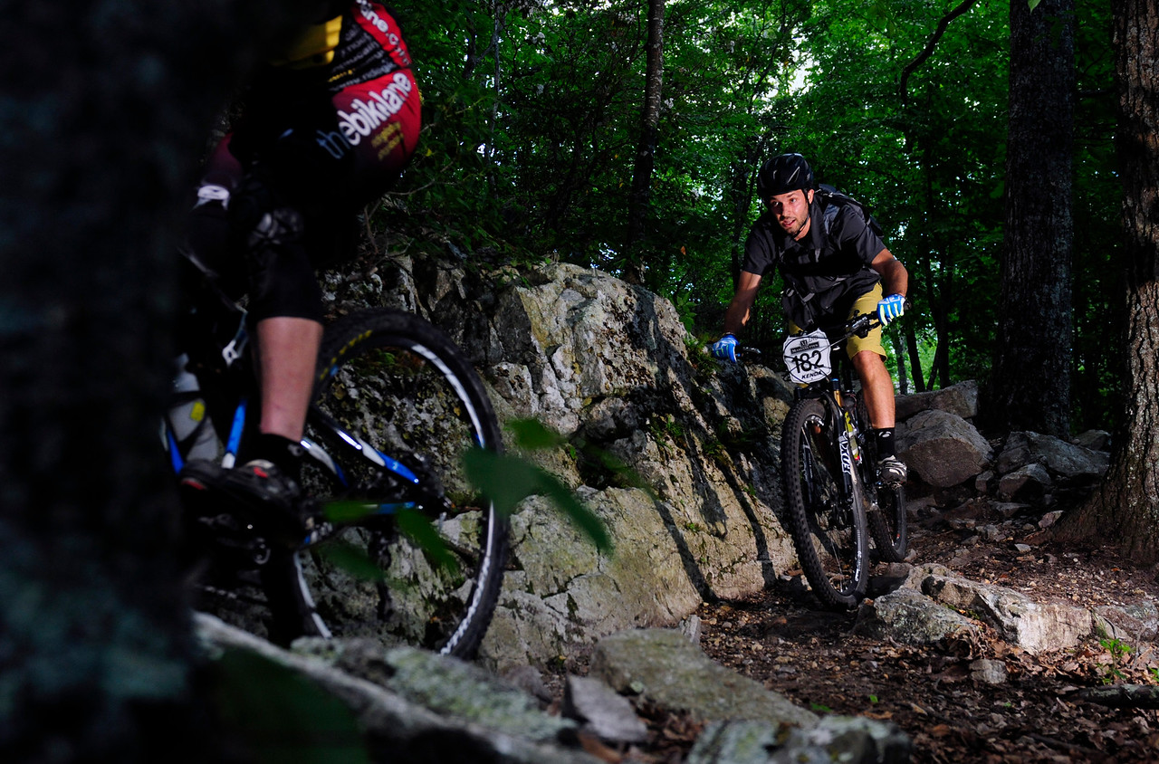 Ian Beckner riding stage 2 in Enduro for SMT